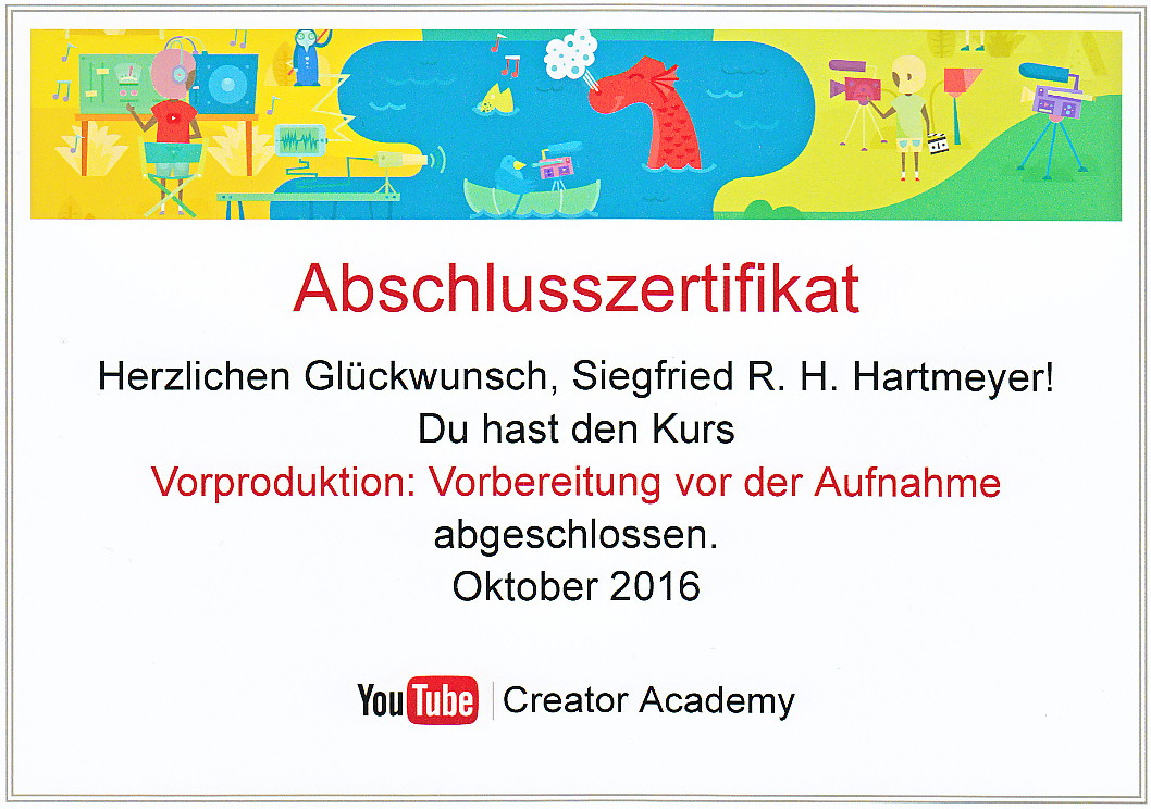 YouTube Creator Academy October 2016
